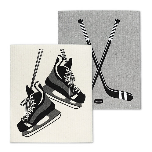 Skates & Sticks Swedish Dishcloths