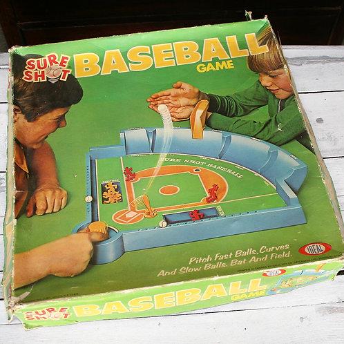 Ideal Sure Shot Baseball Game
