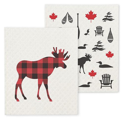 Moose & Icon Swedish Dishcloths