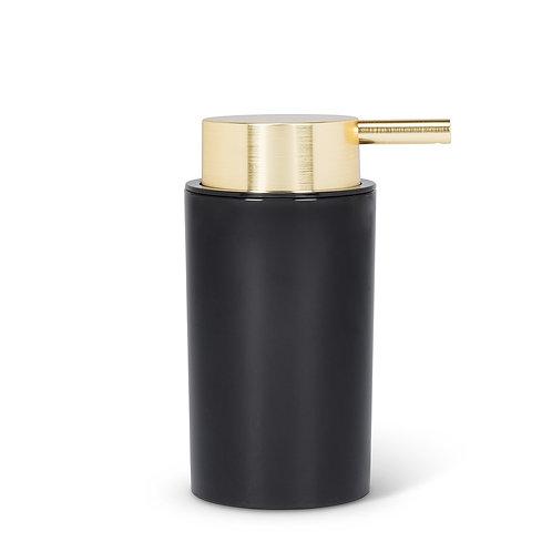 Cylinder Soap Pump Gold