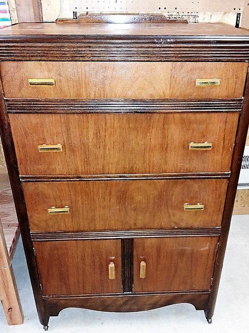 Solid Wood Tall Dresser