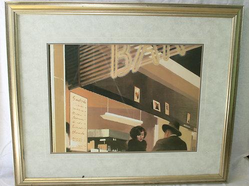 Art Deco Bar Scene