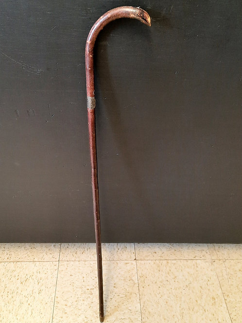 Antique J. Howell Thin Wooden  Cane