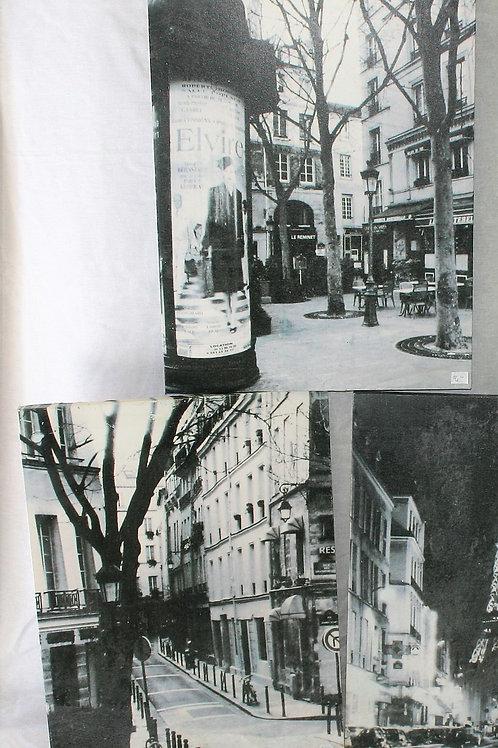 Black & White Paris Scenes