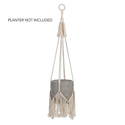 Macrame Planter Hanger with Fringe