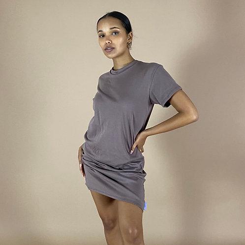 Send Nudes: T-Shirt Dress (Multiple Sleeve Lengths)