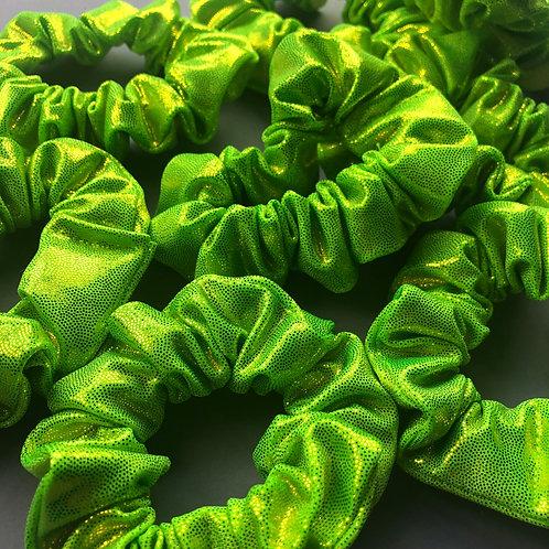 Go Halves Scrunchie - Neon Green