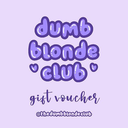 DBC Gift Voucher - £20