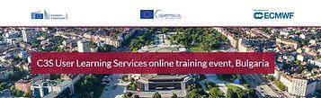 Услугата C3S User learning Services (C3S ULS) на Програма Copernicus предоставя безплатно обучение за работа с данни от Copernicus Climate Data Store (CDS). Нашата цел е да осигурим висококачествено обучение на доставчици и потребители на климатична информация.  1 Как C3S ULS подпомага учащите? Ние предлагаме безплатни учебни дейности в цяла Европа. Обучението цели да подпомогне участниците да формулират и решават казуси, свързани с адаптация към изменението на климата, и да подобрят своите умения: •Разбиране на обхвата и формулирането на проблеми и задачи, свързани с адаптацията към изменението на климата; •Определяне на нуждите на потребителите от информация, необходима за аргументирано вземане на решения по климатични задачи, като част от климатичната услуга C3S; •Съставяне на план за комуникация и сътрудничество с потребители на климатичната  услуга;  •Основни познания във връзка с източниците и обработката на климатични данни; •Идентифициране на потенциала на CDS и неговите компоненти.  Участниците се насърчават да предожат свои казуси, от които ще бъдат избрани пет задачи за мултидисциплинарна групова работа, осигуряваща по-ефективен обучителен курс. В подкрепа на груповата работа по казуси, се изпозлват онлайн учебни ресурси, които обхващат следните теми:  •Откриване и използване на данни за климата; •Проучване и използване на хранилището за климатични данни (CDS), инструменти и налични приложения; •Секторна информация за селското стопанство, водите, енергетиката и други; •Основни познания за климатичните услуги и планиране на климатична адаптация; •Сътрудничество, комуникация и несигурност при адаптацията към изменението на климата.  2 Какво предлага C3S ULS? Услугата за обучение на потребители C3S е подготвена така че да предложи a пълна онлайн програма. Чрез 5 интерактивни виртуални класни стаи, ще бъде проведено цялостно обучение по темата, гарантиращо взаимодействие с обучителите и колегите участници. Участниците, също така, трябва да изпълнят самостояте