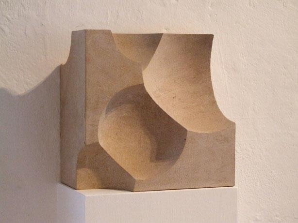 Sphere, Boolean, Cube. 2009.