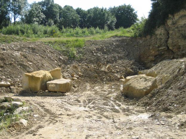 Quarry in Munster 2007.
