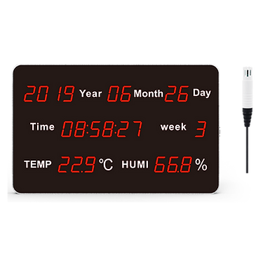 HE218B-EX Large LED Display Temperature and Humidity Transmitter