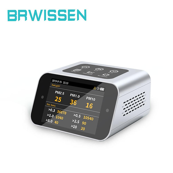 BR-A16 Air Quality Monitor Indoor Pollution Tester for PM1.0 PM2.5 PM10 TVOC HCHO Formaldehyde