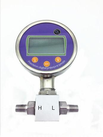 5-digit LCD digital differential pressure manometer