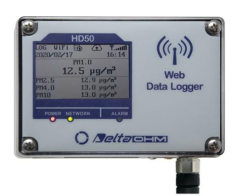 HD50PM – Particulate Matter Web Data Logger