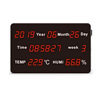 HE218B Large LED Display Temperature and Humidity Transmitter