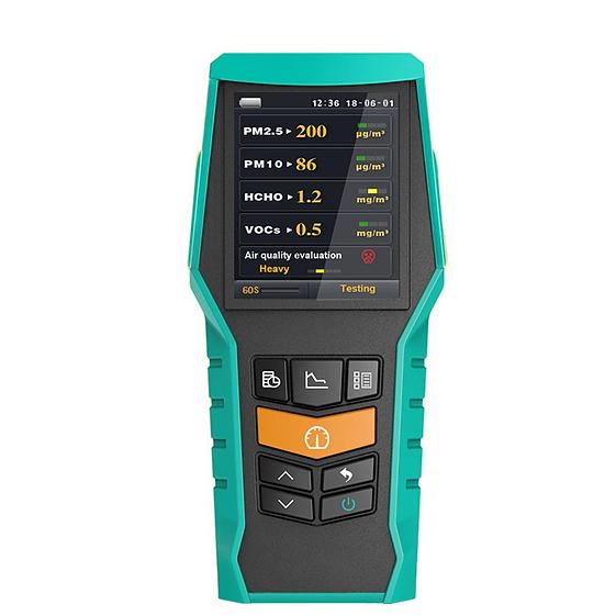 BR-smart-126s PM1.0 PM10 PM2.5 air monitor VOCs Formaldehyde detector