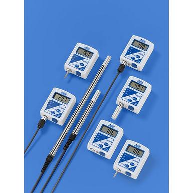 HD208- אוגר נתונים נייח, מדד טמפרטורה, לחות.