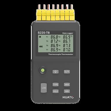 S220-T8 Multi-channel Handheld Thermocouple Temperature Data Logger