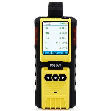 K-600 5 in 1 Multi Gas Detector