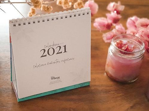 Calendário de Mesa 2021