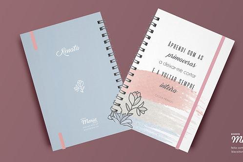 Cadernos Frases e Poesias