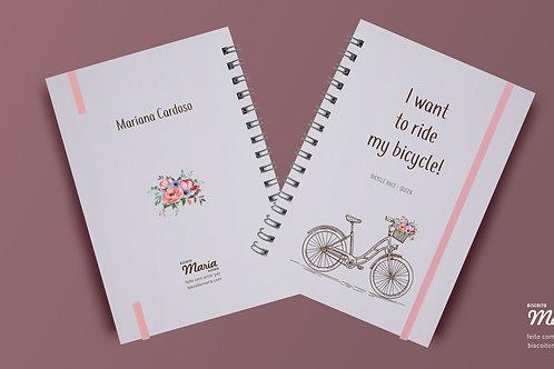 Cadernos Bicicletas