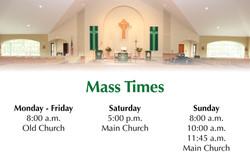Mass Times 09-19-21