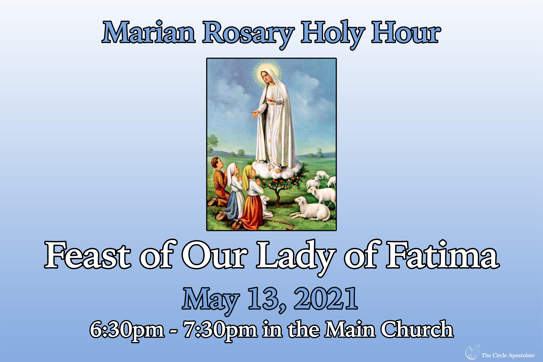 Marian Rosary Holy Hour