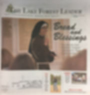 Lake Forest Leader, St. Patrick Women's Group, Spring Luncheon, Sister Alicia Torres, Chopped, Our Lady of Angels, Food Network