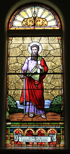 St. Paul Window, Patrick and Mary Lyons