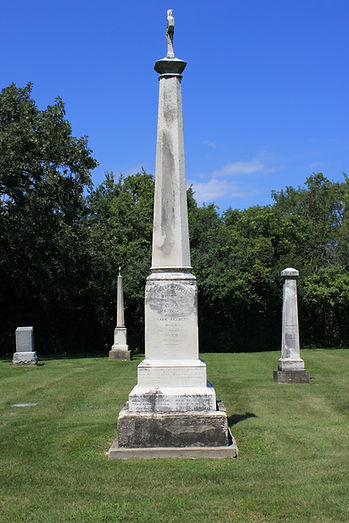 James Bradley, Grace Bradley, St. Patrick Cemetery, Lake Forest, Illinois
