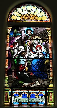 The Nativity Window, O'Connor Brothers, Michael Meehan, Bridget Meehan