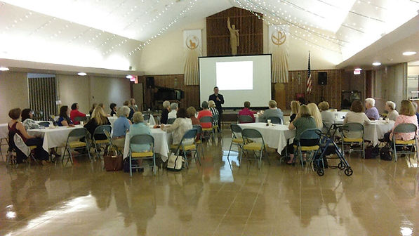 St. Patrick Church, Women's Group, Opening Mass