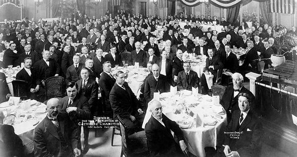 First Annual Catholic Charities Board Meeting, April 1917