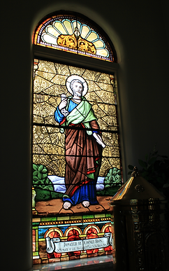 St. Peter The Apostle Window, Johm Cooney, Ann Cooney, James Cooney, Edward Cooney