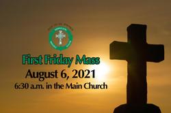 Men of St. Patrick First Friday Mass