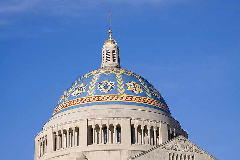 Trinity Dome at the Basilica of the National Shrine of the Immaculate Conception