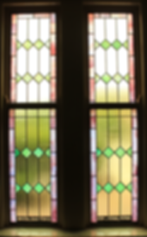 Sarah O'Boyle, Michael O'Boyle, Mary Swift O'Boyle, St. Patrick Church, stained glass window