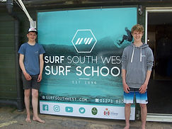Ben Frears & Taylor Hoare _ Surf South W