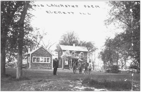 Lancaster, Everett, Illinois, Lancasterville, St. Patrick Church, St. Patrick Cemetery, Lake Forest, IL