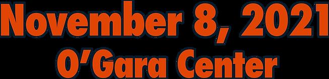 November 8, 2021 in the O'Gara Center