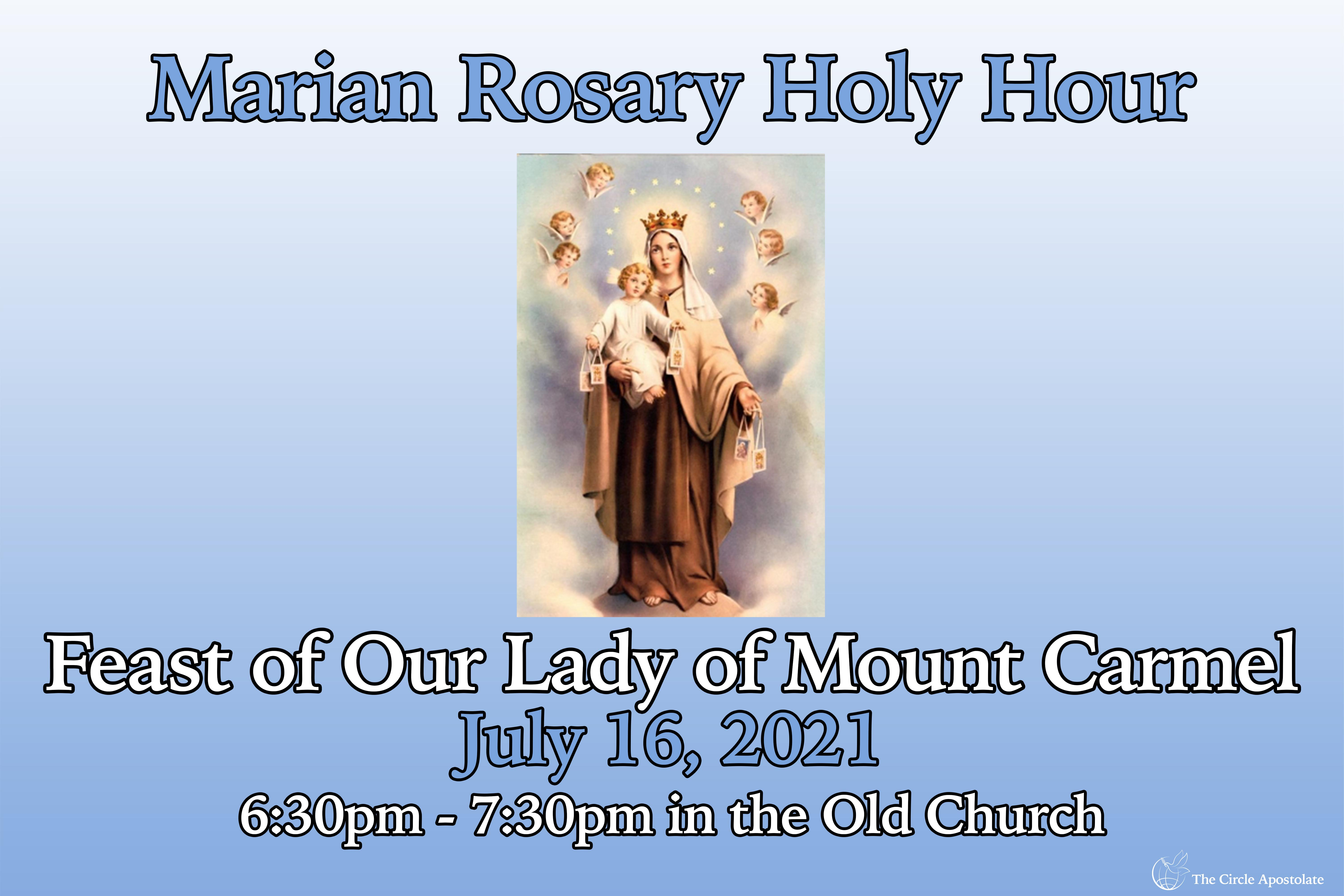 Feast of Our Lady of Moun