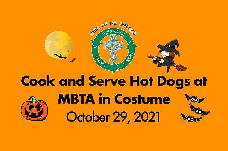 St. Patrick Men's Group MBTA Hot Dogs