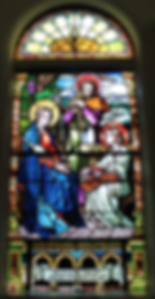 The Holy Family Window, Peter Dawson, Catherine Dawson