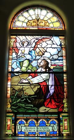 Gethsemane Window, George Francis 'Frank' Redmond, Thomas Redmond, Mary Jane Yore Redmond
