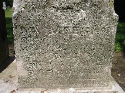St. Patrick church, Lake Forest, Illinois, Michael Meehan, St. Patrick Cemetery, Bridget Meehan