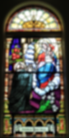 Saint Dominic Window, Thomas Doyle, Ellen A. Melody Doyle, Patrick Melody, John Doyle