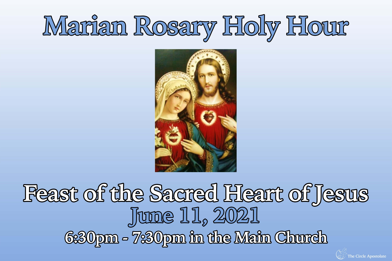 Marian Rosary Holy Hour: