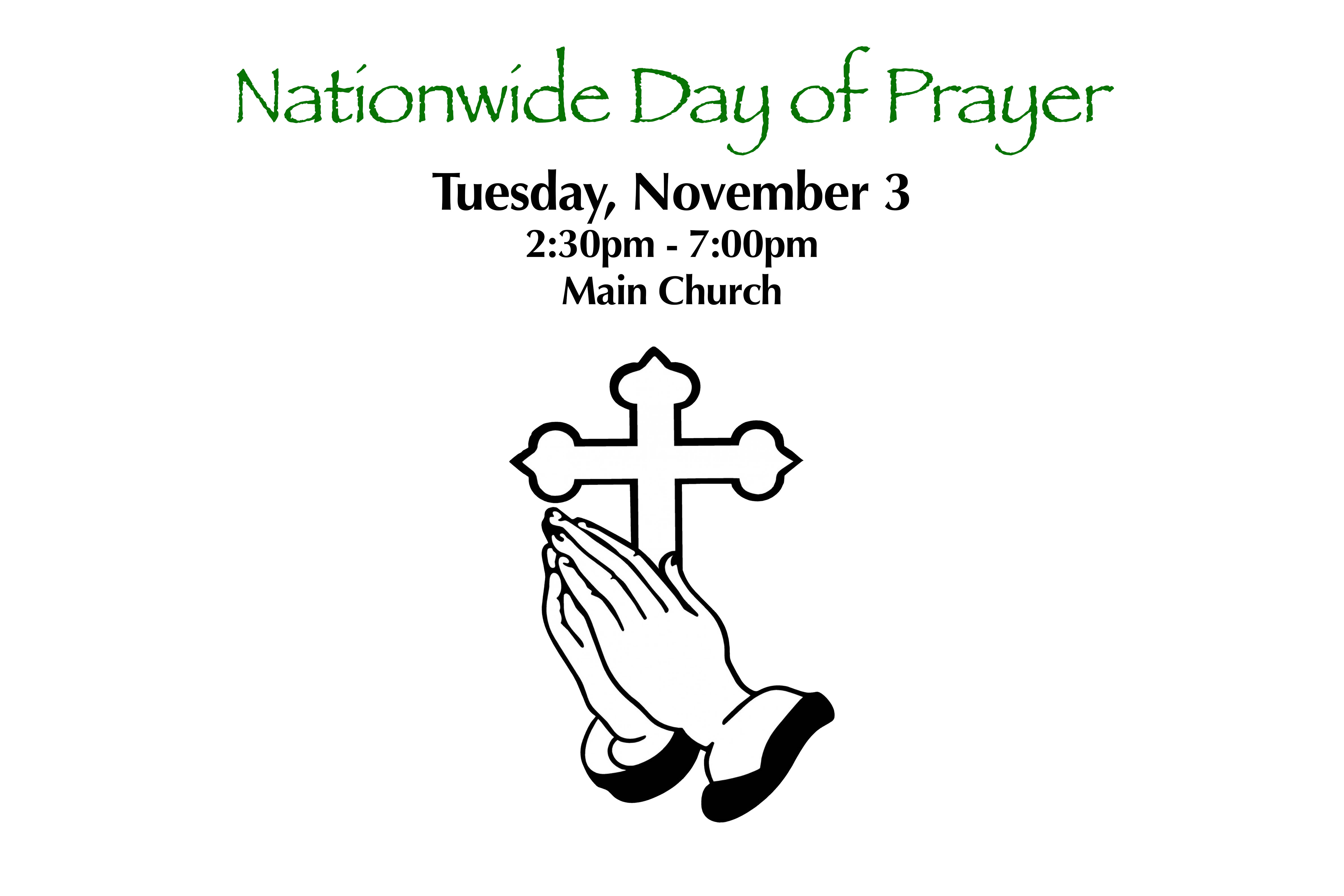 Nationwide Day of Prayer